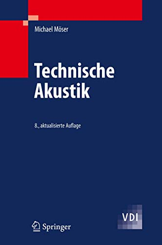 9783540898177: Technische Akustik (VDI-Buch) (German Edition)