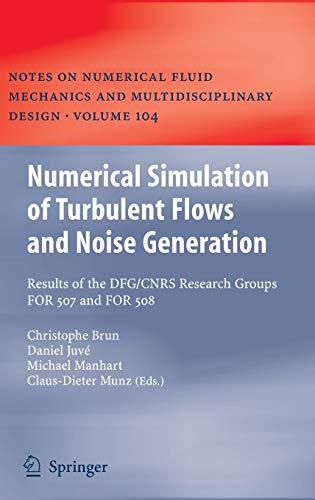 Numerical Simulation of Turbulent Flows and Noise Generation: Christophe Brun