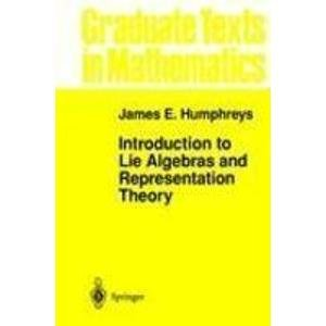 9783540900535: Introduction to Lie Algebras and Representation Theory (Graduate Texts in Mathematics)