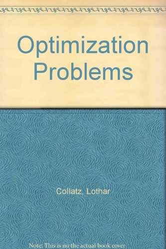 9783540901433: Optimization Problems