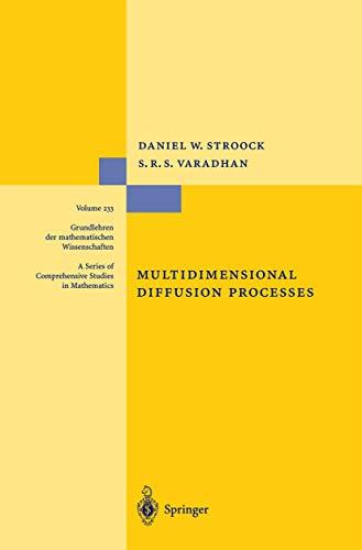 9783540903536: Multidimensional Diffusion Processes