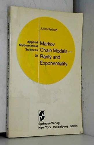 9783540904052: Markov Chain Models - Rarity and Exponentiality
