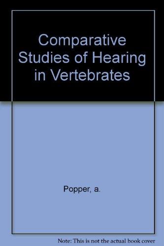 9783540904601: Comparative Studies of Hearing in Vertebrates