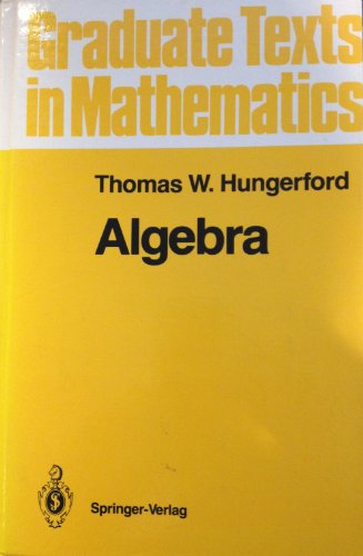 9783540905189: Algebra (Graduate Texts in Mathematics)
