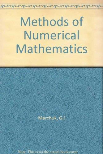 9783540906148: Methods of Numerical Mathematics