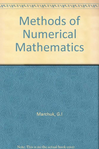 9783540906148: Methods of Numerical Mathematics