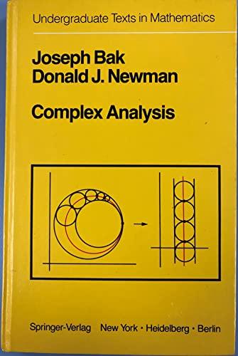 9783540906155: Complex Analysis (Undergraduate Texts in Mathematics)