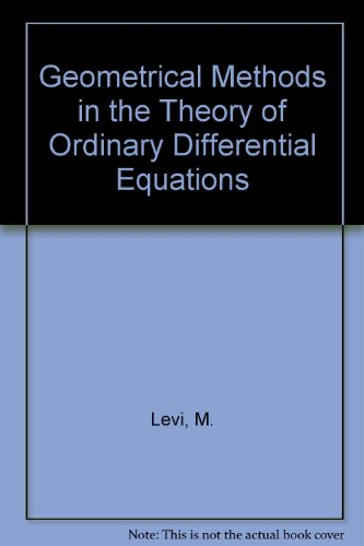 9783540906810: Geometrical Methods in the Theory of Ordinary Differential Equations