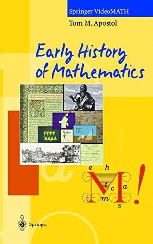 9783540926474: Early History of Mathematics: VHS/PAL