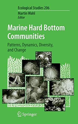 9783540927037: Marine Hard Bottom Communities: Patterns, Dynamics, Diversity, and Change (Ecological Studies)