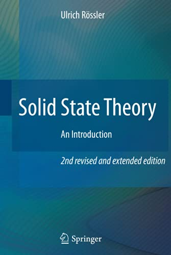 9783540927617: Solid State Theory: An Introduction