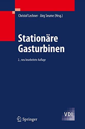 9783540927877: Stationäre Gasturbinen (VDI-Buch) (German Edition)