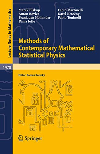 9783540927952: Methods of Contemporary Mathematical Statistical Physics (Lecture Notes in Mathematics)