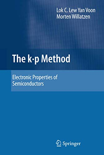 9783540928713: The k p Method: Electronic Properties of Semiconductors