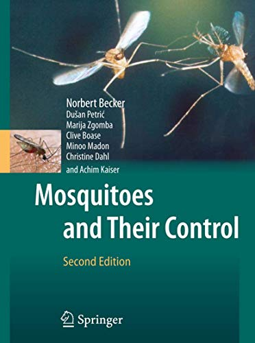 9783540928737: Mosquitoes and Their Control