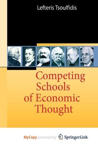 9783540928850: Competing Schools of Economic Thought