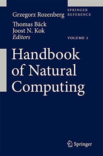 9783540929093: Handbook of Natural Computing:4 vol set (Springer Reference)