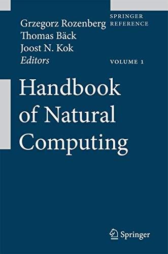9783540929109: Handbook of Natural Computing