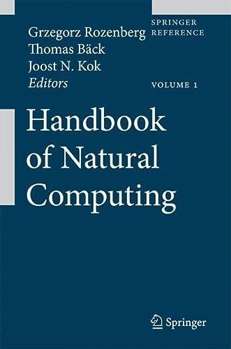 9783540929116: Handbook of Natural Computing