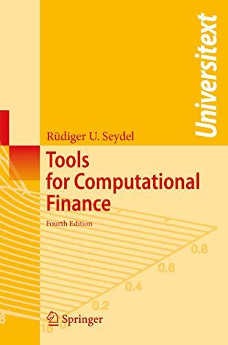 9783540929284: Tools for Computational Finance (Universitext)