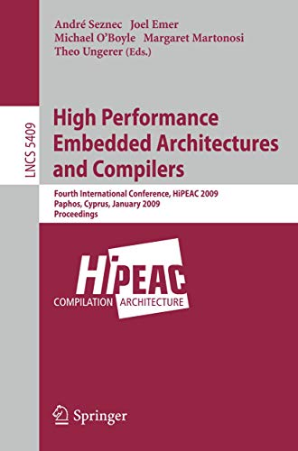 High Performance Embedded Architectures and Compilers: Seznec, Andre (EDT)/