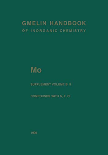 Mo Molybdenum (Gmelin Handbook of Inorganic and: Hermann Jehn