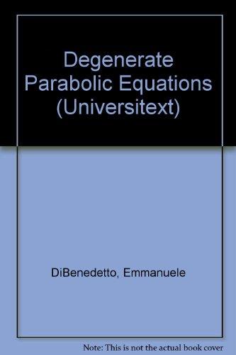 9783540940203: Degenerate Parabolic Equations (Universitext)