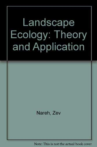 9783540940593: Landscape Ecology: Theory and Application