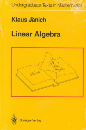 9783540941286: Linear Algebra (Undergraduate Texts in Mathematics)