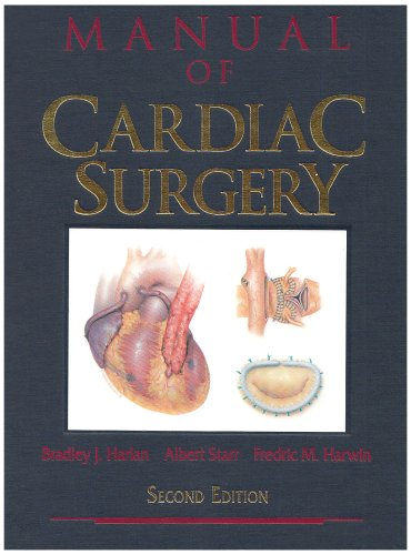 9783540942207: Manual of Cardiac Surgery