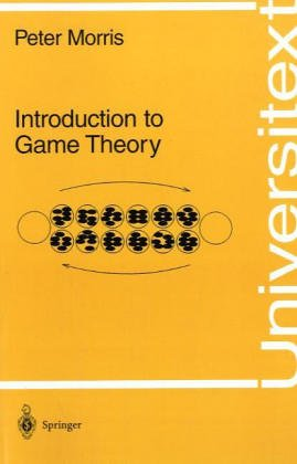 9783540942849: Introduction to Game Theory