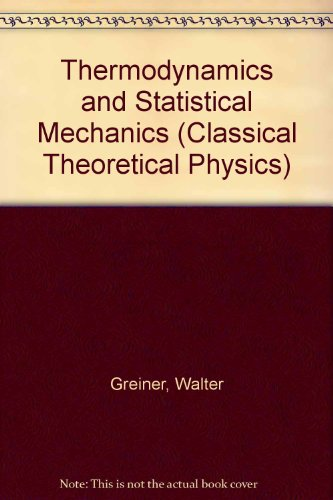9783540942993: Thermodynamics and Statistical Mechanics
