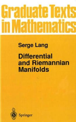 9783540943389: Differential and Riemannian Manifolds
