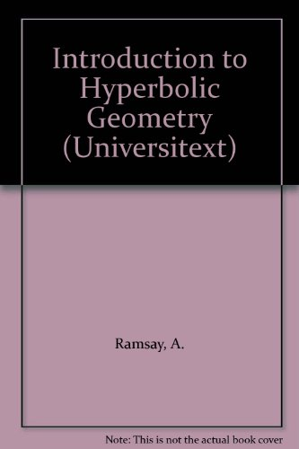 9783540943396: Introduction to Hyperbolic Geometry