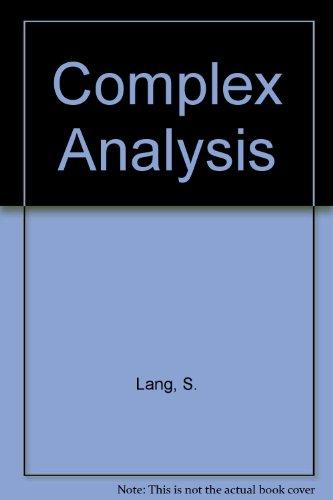 9783540960850: Complex Analysis
