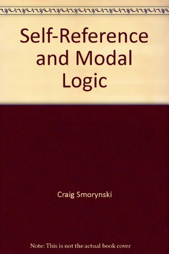 9783540962090: Self-Reference and Modal Logic
