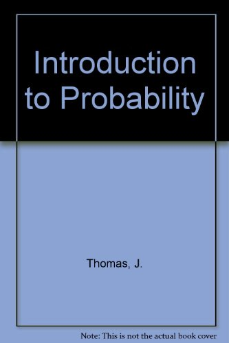 9783540963196: Introduction to Probability