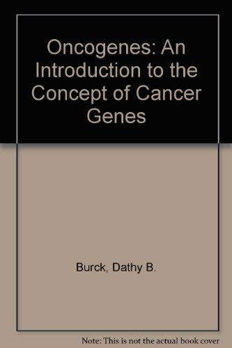 9783540964230: Oncogenes: An Introduction to the Concept of Cancer Genes