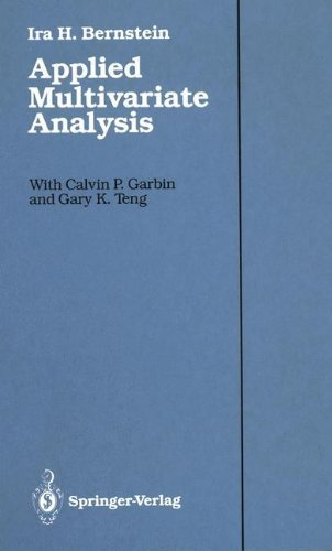 9783540965428: Applied Multivariate Analysis