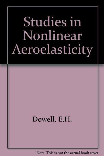 9783540967910: Studies in Nonlinear Aeroelasticity