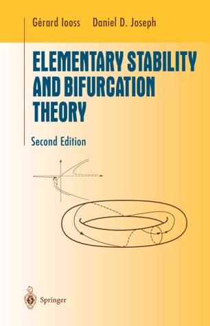 9783540970682: Elementary Stability and Bifurcation Theory (Undergraduate Texts in Mathematics)