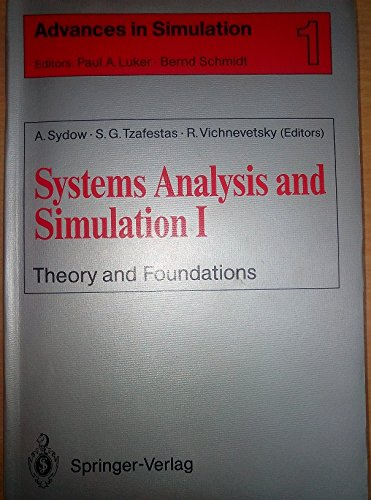 9783540970910: Systems Analysis and Simulation I: Theory and Foundations