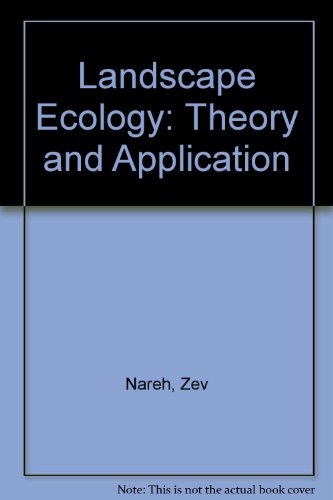 9783540971696: Landscape Ecology: Theory and Application