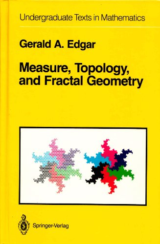 9783540972723: Measure, topology, and fractal geometry (Undergraduate Texts in Mathematics)