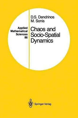 9783540972839: Chaos and Socio-Spatial Dynamics