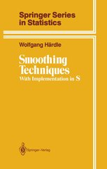9783540973676: Smoothing Techniques: With Implementation in S (Springer series in statistics)