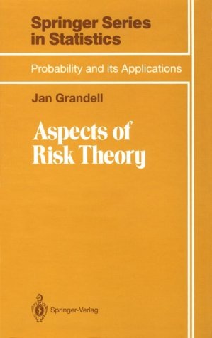 9783540973683: Aspects of Risk Theory (Applied Probability)