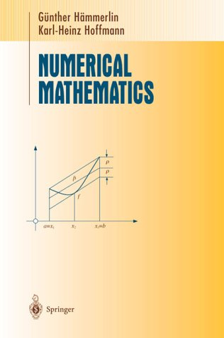 9783540974949: Numerical Mathematics (Undergraduate Texts in Mathematics / Readings in Mathematics)