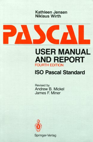 9783540976493: Pascal User Manual and Report
