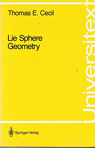 9783540977476: Lie Sphere Geometry: With Applications to Submanifolds (Universitext)